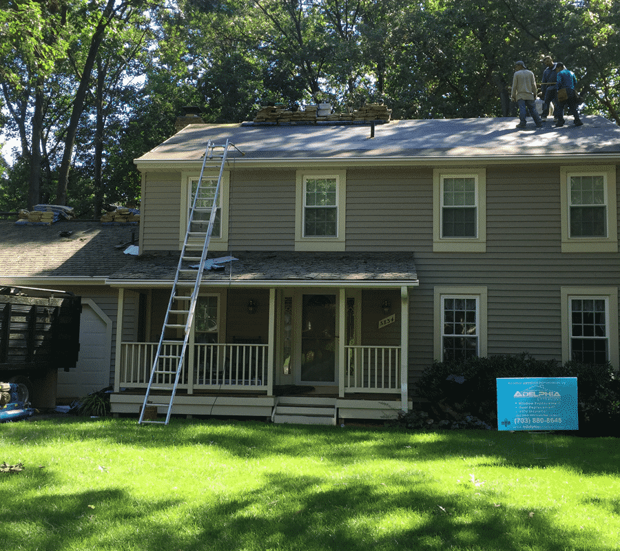 roof replacement Burke, VA